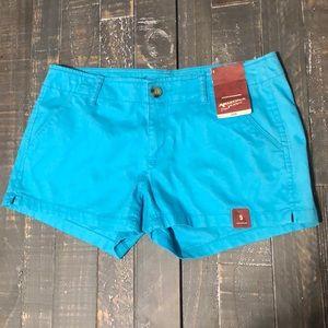 NWT Arizona Jean Co. Blue Shorts
